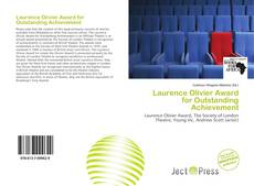 Bookcover of Laurence Olivier Award for Outstanding Achievement