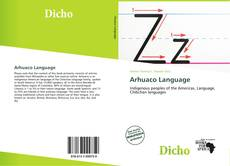 Bookcover of Arhuaco Language