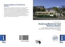 Bookcover of Duisburg-Meiderich Süd Railway Station