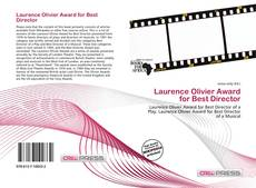 Bookcover of Laurence Olivier Award for Best Director