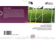 Bookcover of Christie Welsh