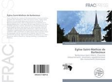 Bookcover of Église Saint-Mathias de Barbezieux