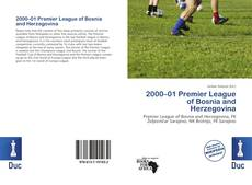 Capa do livro de 2000–01 Premier League of Bosnia and Herzegovina