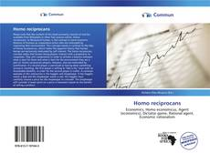 Bookcover of Homo reciprocans