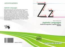 Borítókép a  Japhetic Languages - hoz