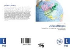 Bookcover of Johann Homann