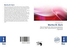 Couverture de Martha W. Bark