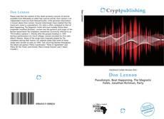 Bookcover of Don Lennon