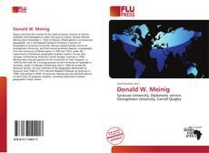 Capa do livro de Donald W. Meinig