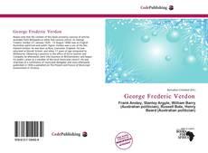George Frederic Verdon kitap kapağı