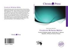 Bookcover of Friedrich-Wilhelm Müller