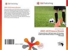 2001–02 Primera Divisió的封面