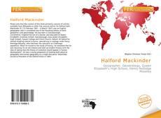 Buchcover von Halford Mackinder