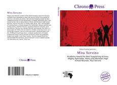 Bookcover of Mira Sorvino