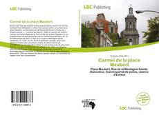 Bookcover of Carmel de la place Maubert