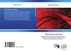33rd Saturn Awards的封面