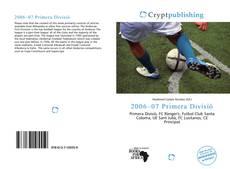 Bookcover of 2006–07 Primera Divisió