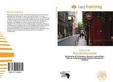 Bookcover of Rue de Charonne