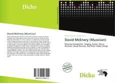 Portada del libro de David McEnery (Musician)