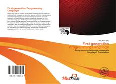 Capa do livro de First-generation Programming Language