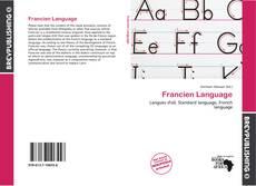 Francien Language的封面