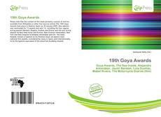 Обложка 19th Goya Awards