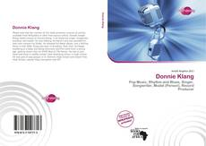 Bookcover of Donnie Klang