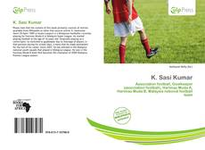 Bookcover of K. Sasi Kumar