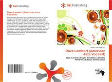 Bookcover of Dave Lambert (American Jazz Vocalist)