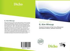 Copertina di G. Kim Wincup