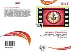 Bookcover of Ali Asgar (Comedian)
