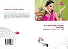 Khushboo (Pakistani actress) kitap kapağı