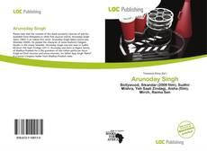 Capa do livro de Arunoday Singh