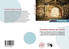 Обложка Claudine Guérin de Tencin