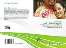 Bookcover of Latin Contemporain