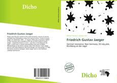 Bookcover of Friedrich Gustav Jaeger