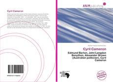 Couverture de Cyril Cameron