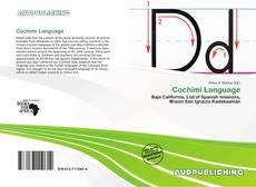 Couverture de Cochimí Language