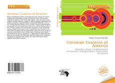 Bookcover of Christian Coalition of America