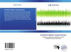 Buchcover von Friedrich Weber (veterinarian)