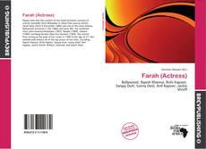 Couverture de Farah (Actress)