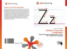 Bookcover of Eastern Trans-Fly Languages