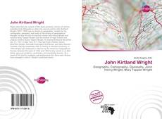 Bookcover of John Kirtland Wright