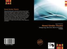 Bookcover of Hevesi Sándor Theatre