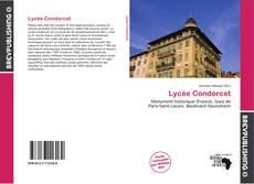 Capa do livro de Lycée Condorcet