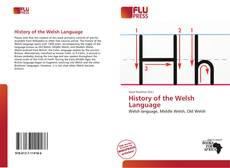 Portada del libro de History of the Welsh Language