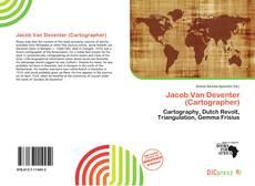 Bookcover of Jacob Van Deventer (Cartographer)