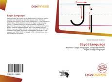 Bayot Language kitap kapağı