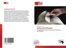Portada del libro de Johannes Honter