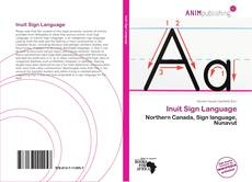 Capa do livro de Inuit Sign Language